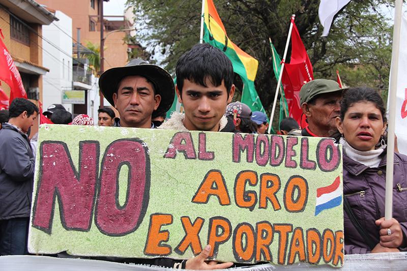 """Encontro """"Agronegócio no Cone Sul – resistências e alternativas"""" termina com jornada de lutas e solidaredade com movimentos sociais no Paraguai"""