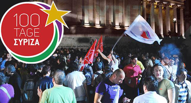 100 Tage Syriza