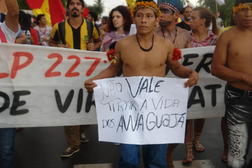 Duplicação da Estrada de Ferro Carajás em área indígena é suspensa