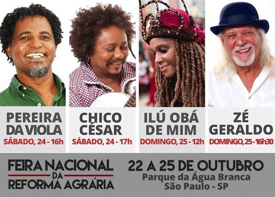 Feira da reforma agrária mostra diversidade da produção brasileira