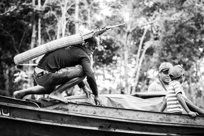O presente de Karo Ebak aos Munduruku