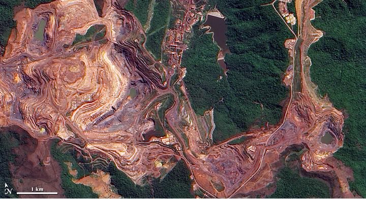 Der Bergbau ist ein Monster
