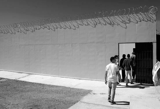 Centro del Sistema de Responsabilidad Penal Adolescente. Foto: Iván Franco (archivo, octubre de 2014)