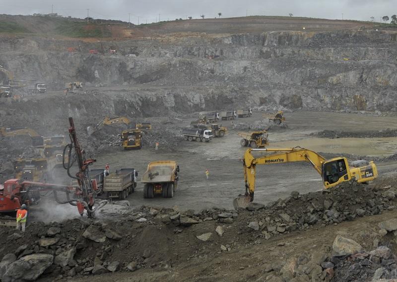Obra para construção de hidrelétrica de Belo Monte, na Amazônia. Foto: Regina Santos/ Norte Energia