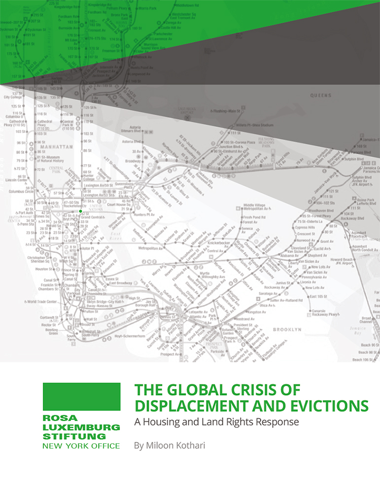 The Global Crisis of Displacement and Evictions