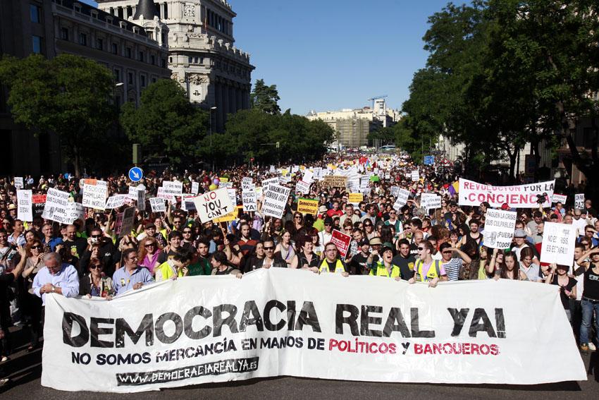 Manifestacion Democracia Real Ya