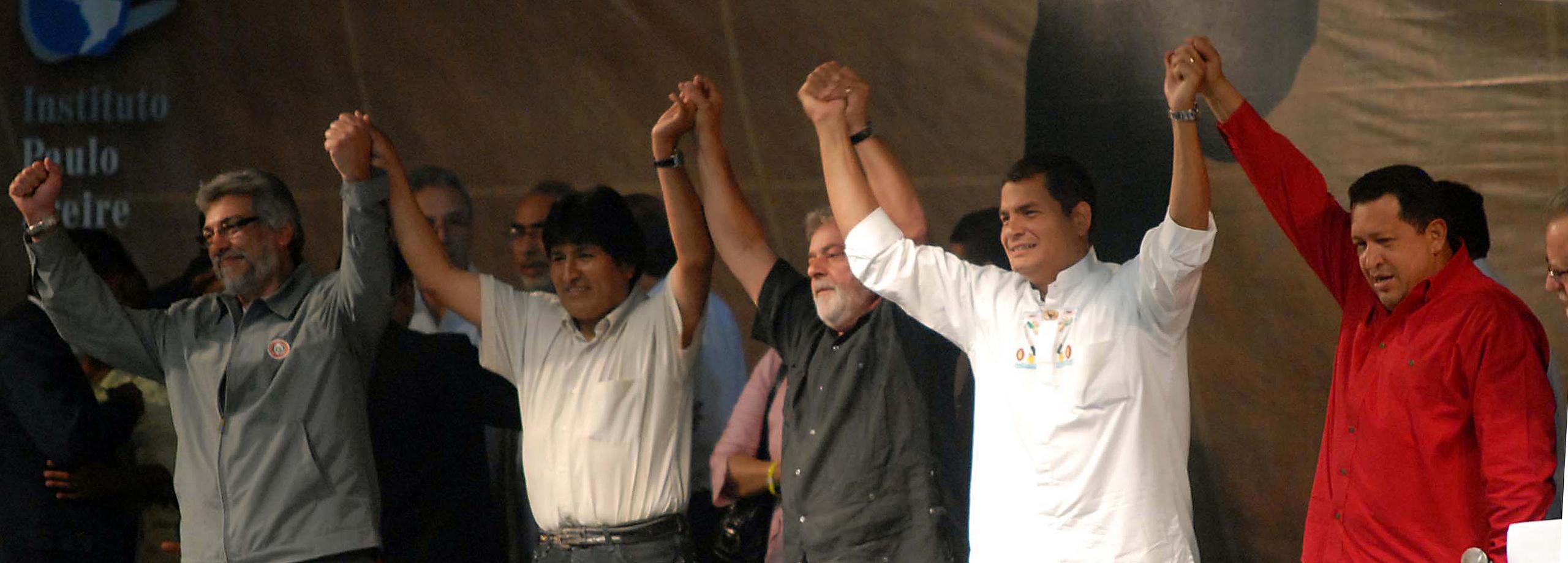 Linke Regierungen und Parteien in Lateinamerika