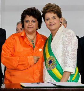 Ministra Izabella Teixeira empossada por Dilma Rousseff