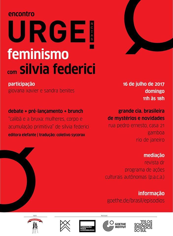 Pesquisadora participa de atividade com lideranças feministas