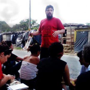 Rudrigo fala sobre a ocupação