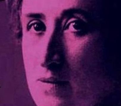 Rosa Luxemburgo en un conversatorio en Paraguay