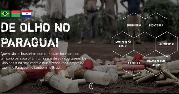 """Está no ar o site """"De Olho no Paraguai"""""""