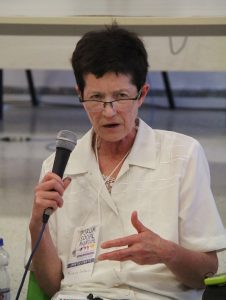 Judith Dellheim, da Fundação Rosa Luxemburgo