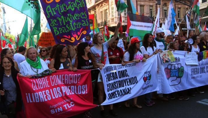 """""""Fuera OMC, construyendo soberanía"""""""