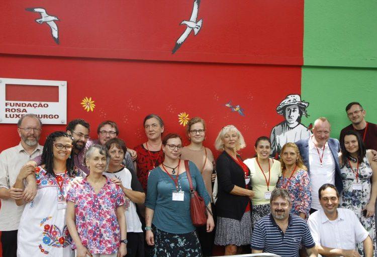 Rosa-Luxemburg-Stiftung feiert 15 Jahre in Südamerika