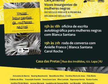 Vozes Insurgentes de Mulheres Negras chega à capital carioca