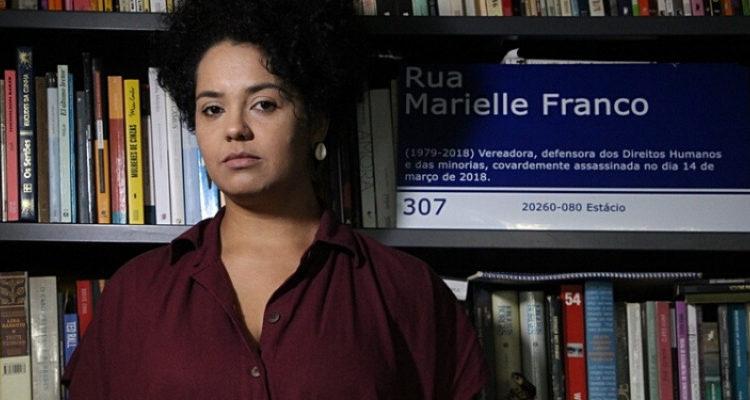 Bianca Santana, organizadora do livro Vozes Insurgentes de Mulheres negras