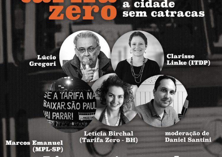Lançamento do livro Tarifa zero: a cidade sem catracas