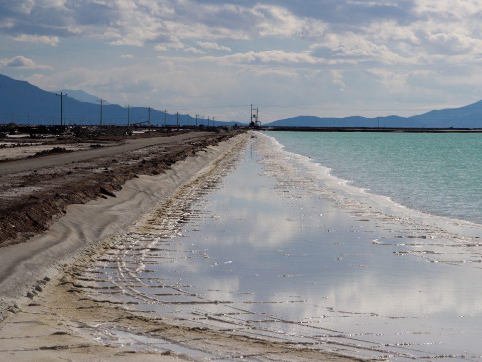 Bacias de evaporação (YLB), Salar Uyuni, Bolivia. Créditos: Martina Gamba/Grupo de Estudios en Geopolítica y Bienes Comunes.